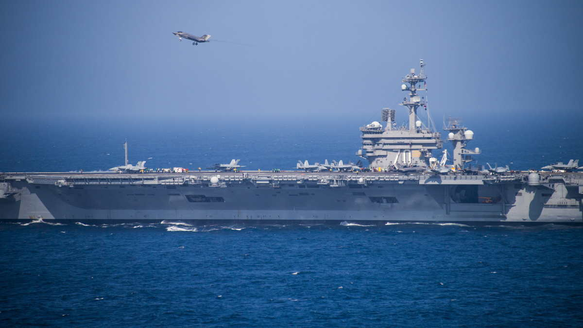 Авианосец USS Carl Vinson CVN-70