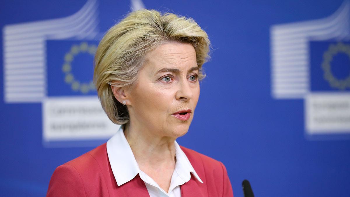 председатель Еврокомиссии (ЕК) Урсула фон дер Ляйен