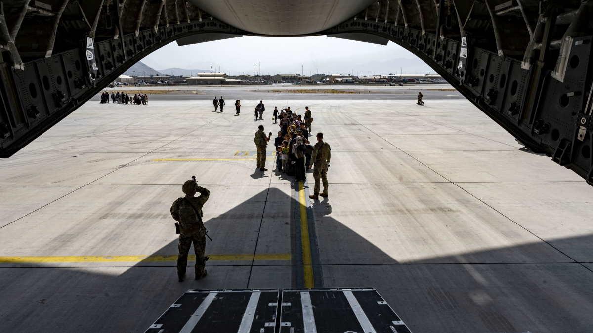 Аэропорт Кабула Афганистан