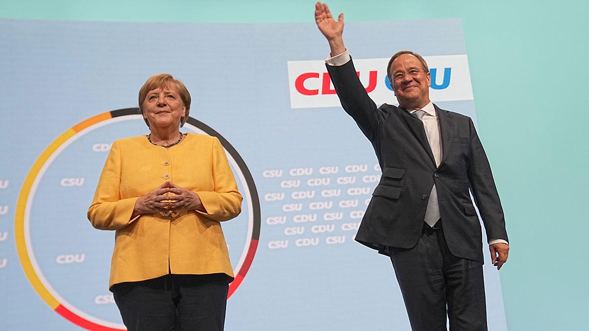 Ангела Меркель и Армин Лашет