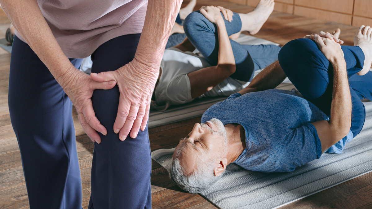 боль в колене физкультура