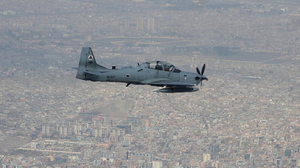 Самолет ВСС Афганистана