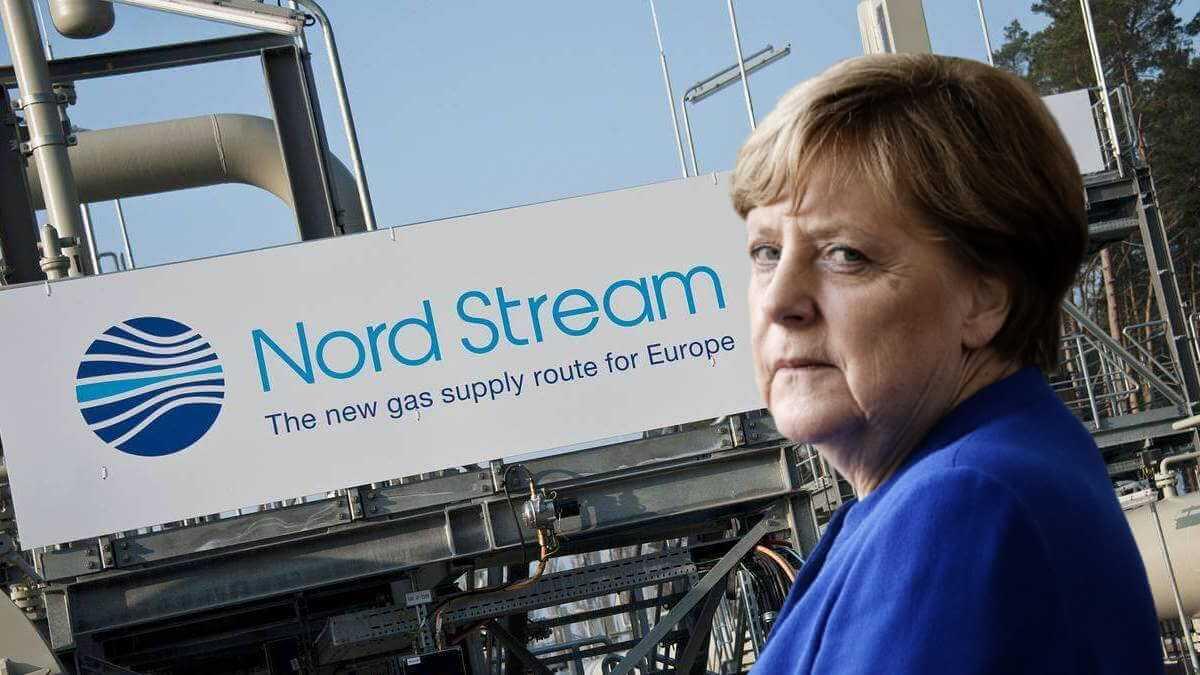 Ангела Меркель и Северный поток-2