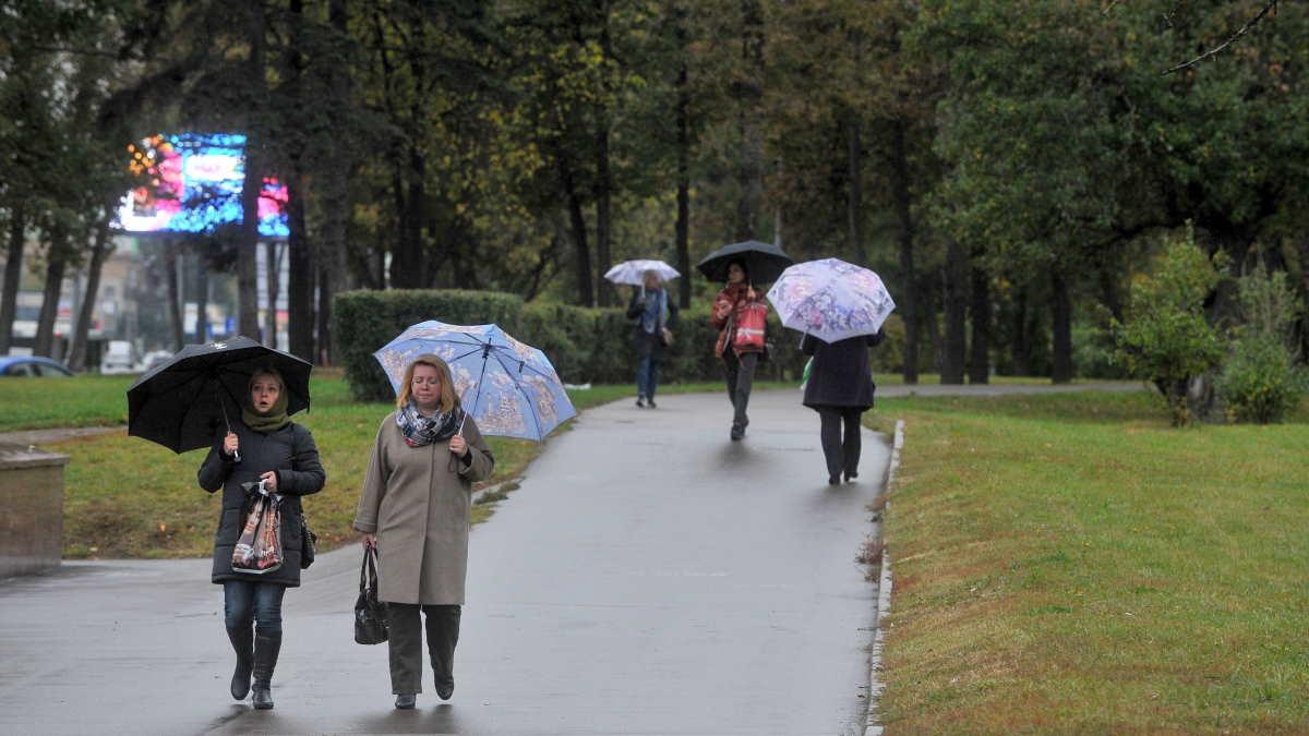 В Москве 19 сентября ожидаются дожди и порывистый ветер
