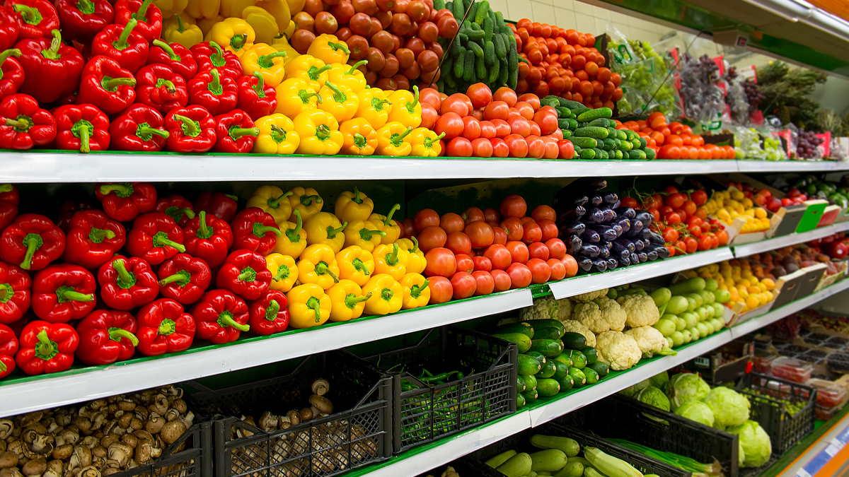магазин продукты овощи