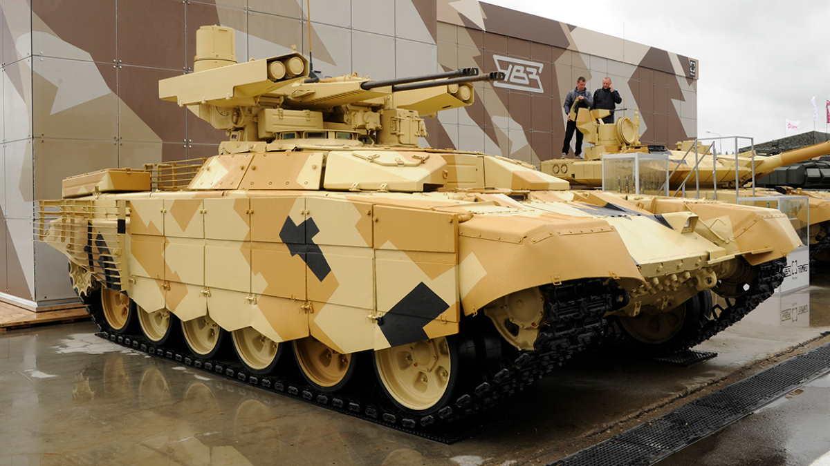 БМПТ-72 и Т-90МС