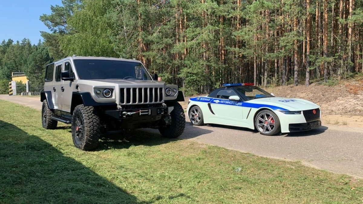 Бронеавтомобиль Стрела и родстер Крым