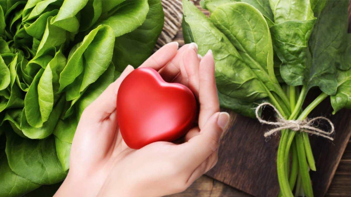 шпинат сердце