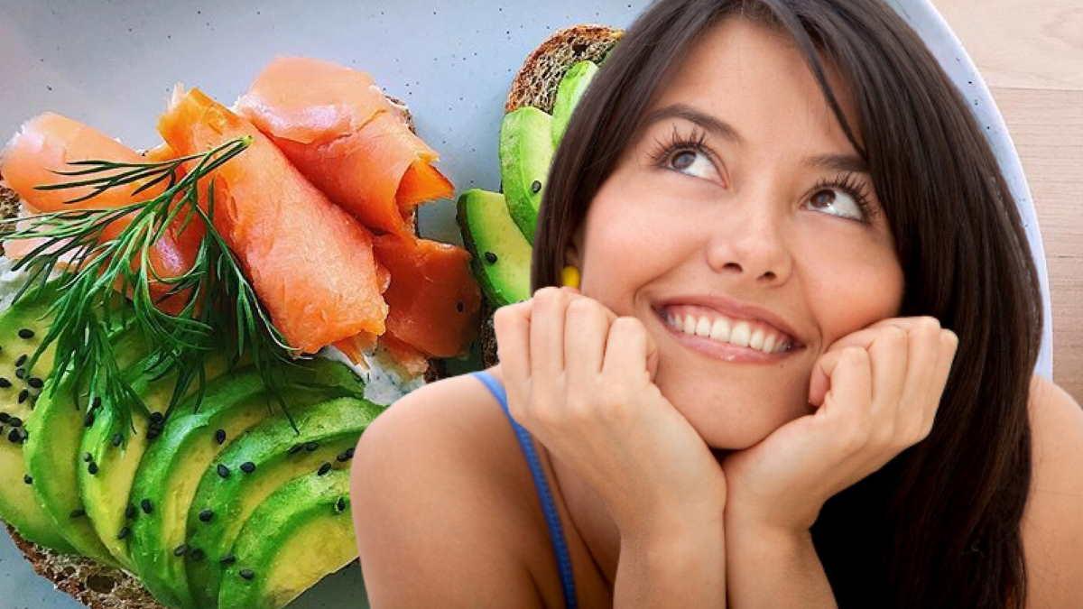 авокадо лосось хлеб хорошее настроение