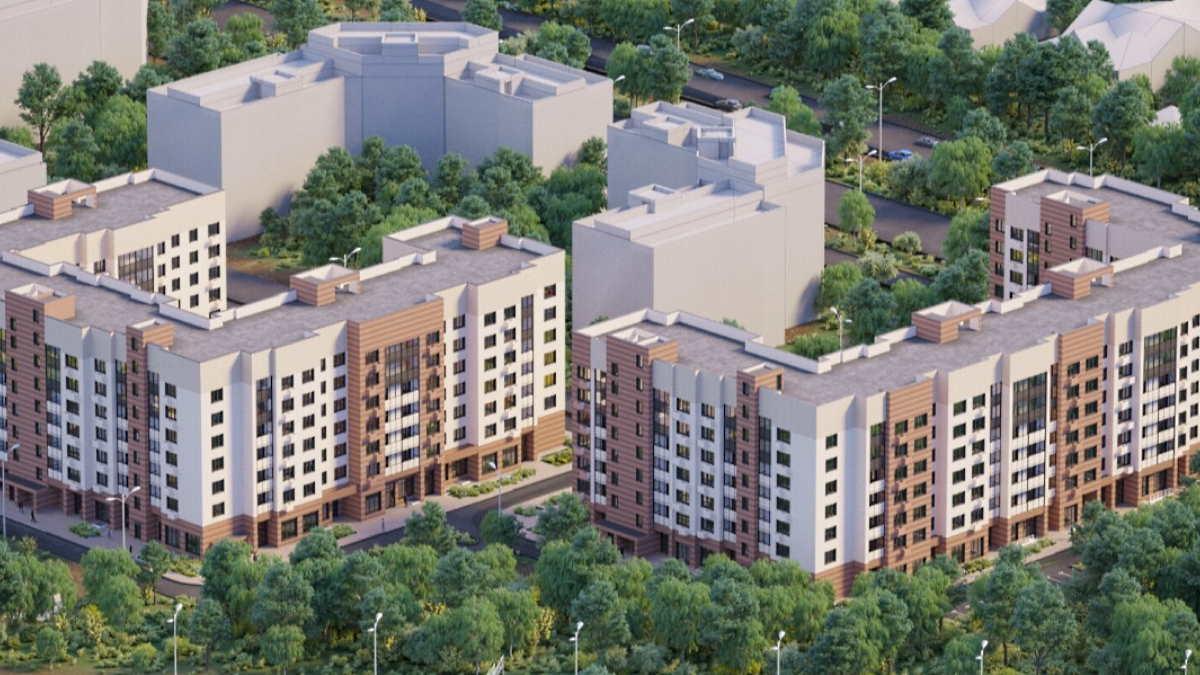 новостройки многоэтажные дома