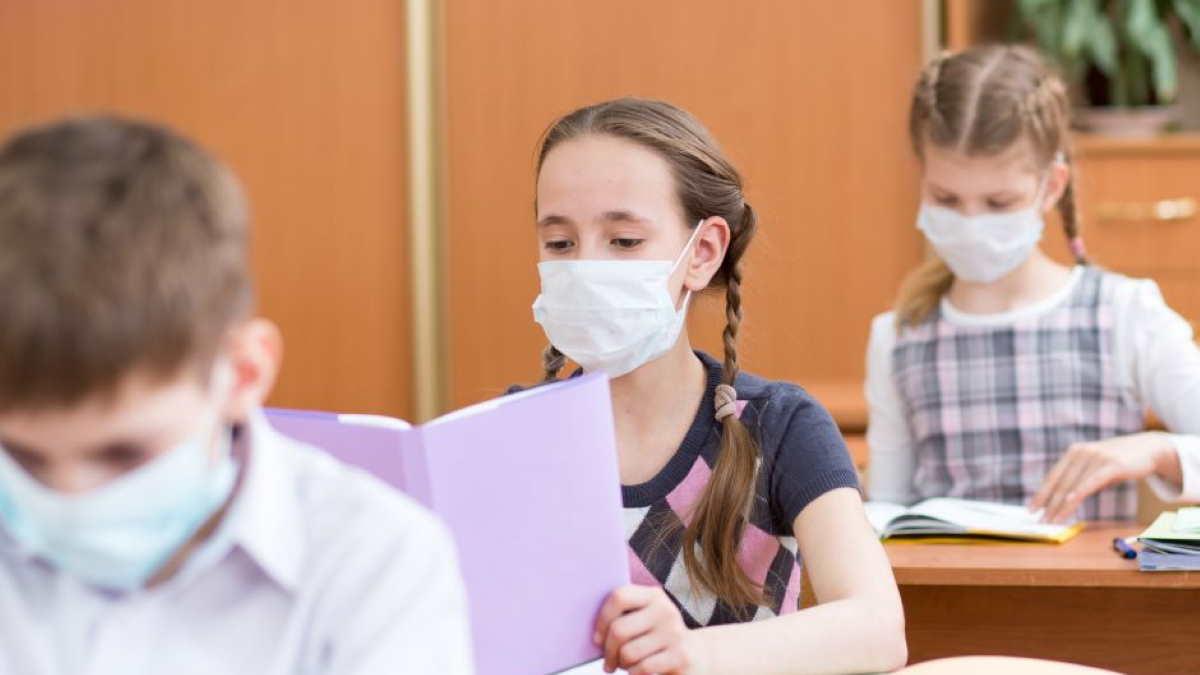 школьники коронавирус