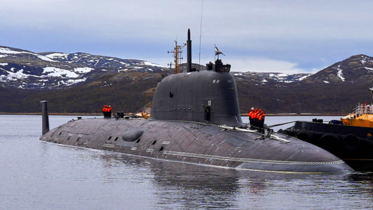 Подводная лодка К-560 Северодвинск