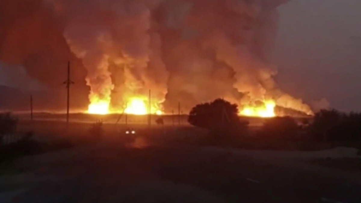 Казахстан взрыв