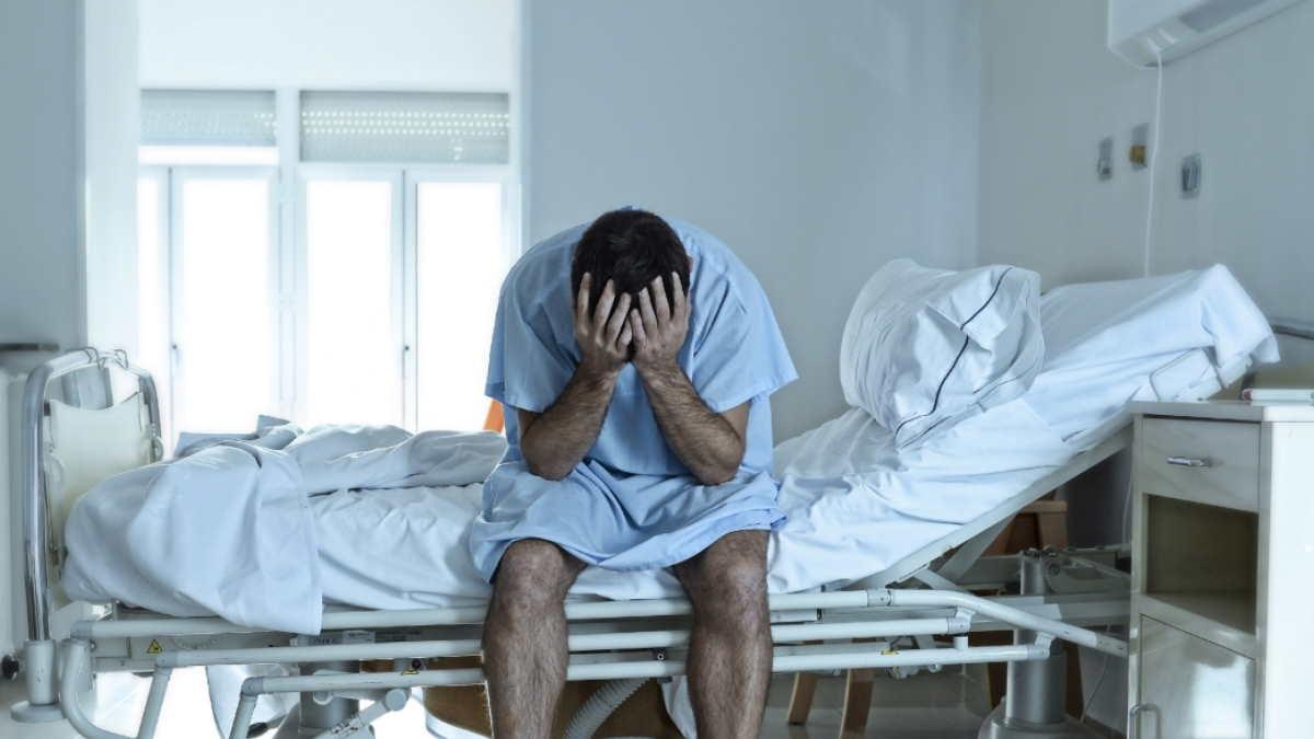 пациент находится в палате