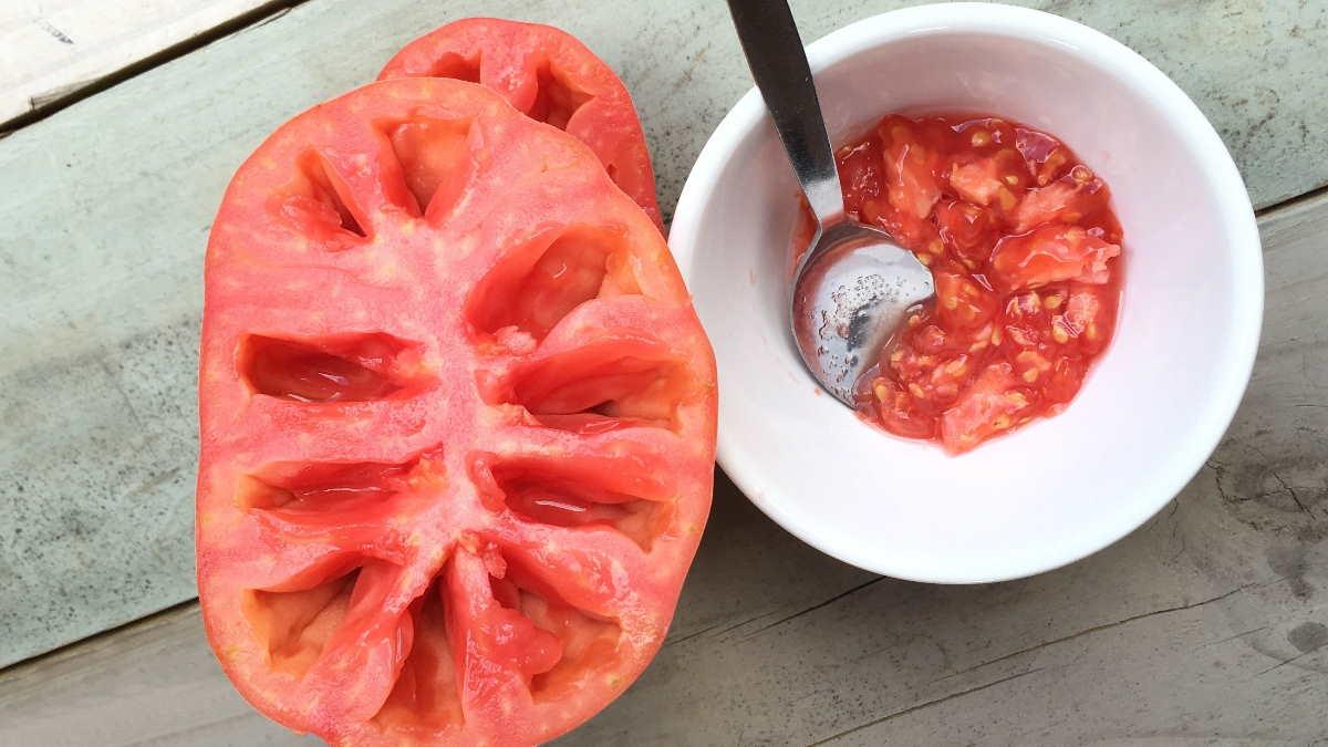 помидоры извлечение семян