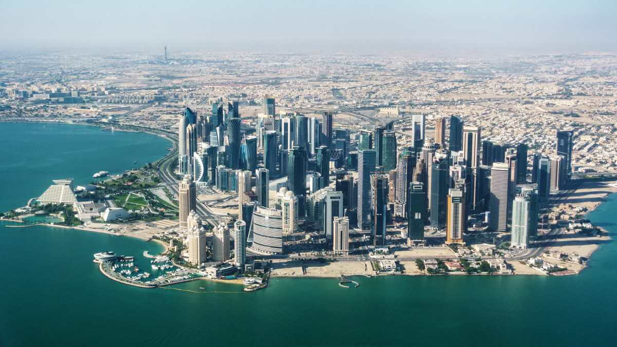 Город Доха Катар