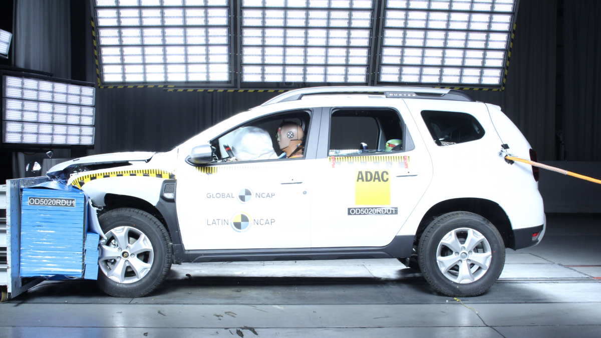 Renault Duster краш-тест
