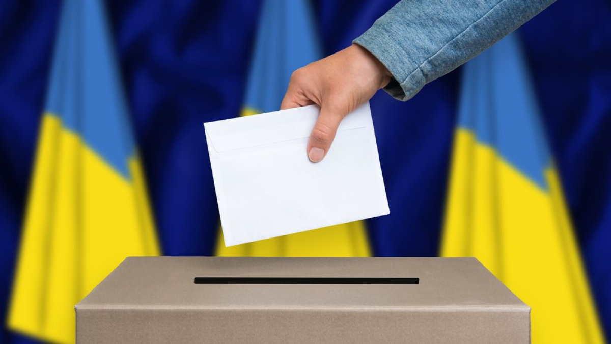 Украина голосование выборы