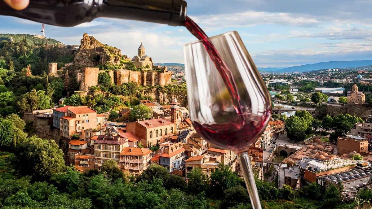 Грузия вино