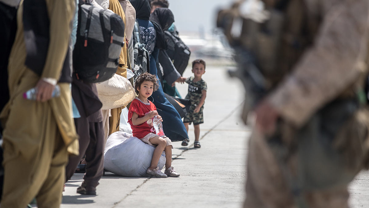Афганистан дети сумки