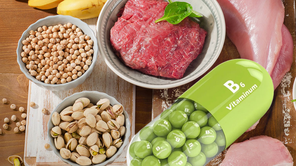 Продукты витамин B6