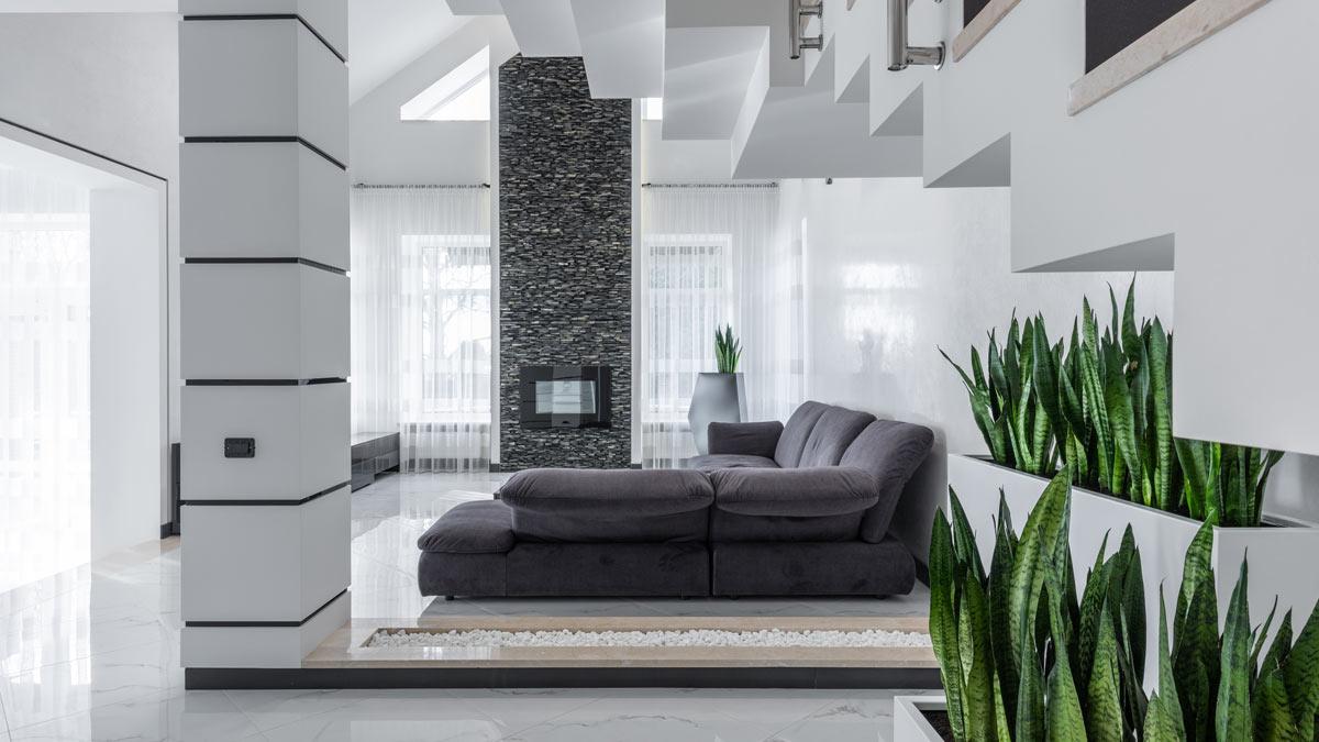 Комната диван