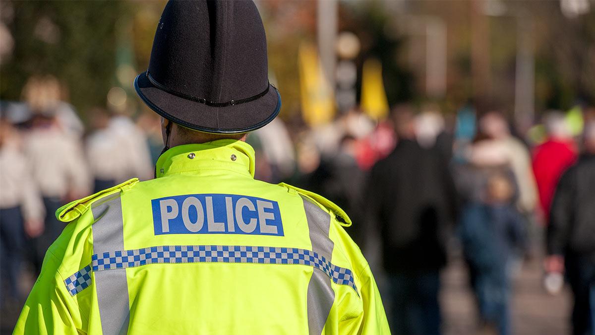 Полиция Англия
