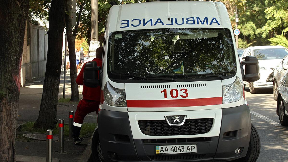 Киев Машина скорой помощи