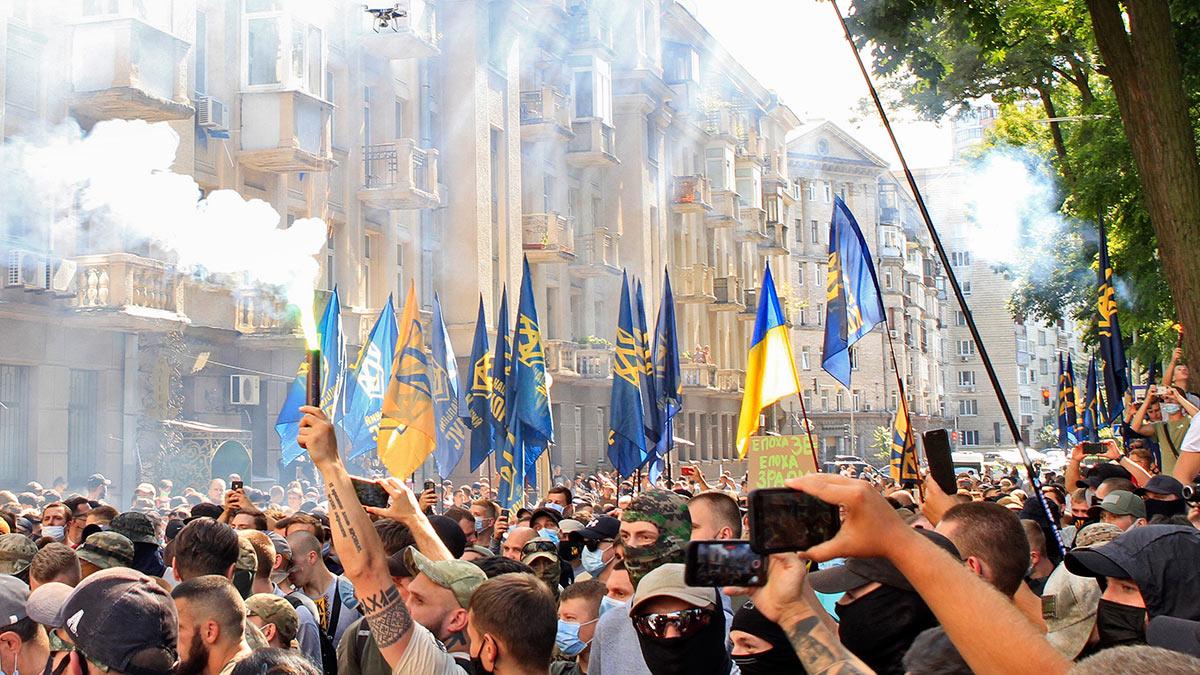 Киев акции протеста