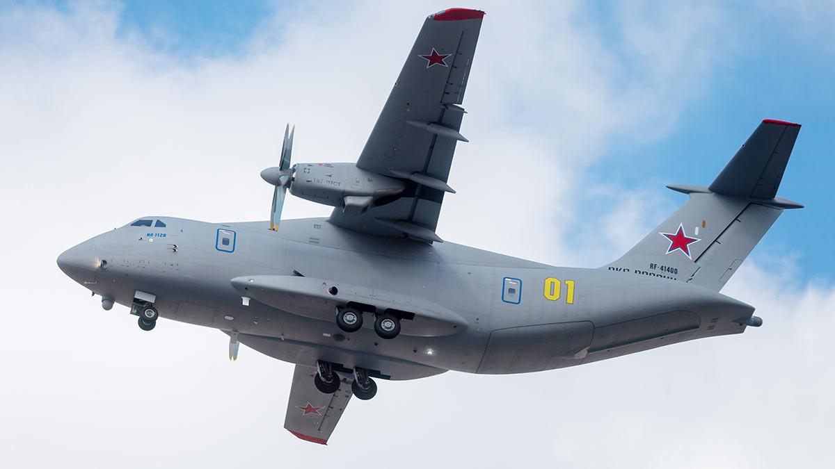 Самолет ИЛ-112В