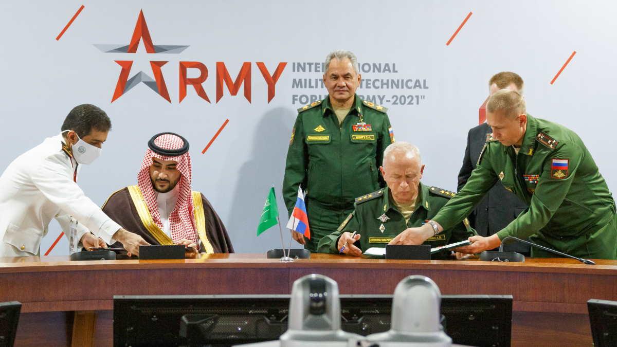 Россия и Саудовская Аравия соглашение о военном сотрудничестве