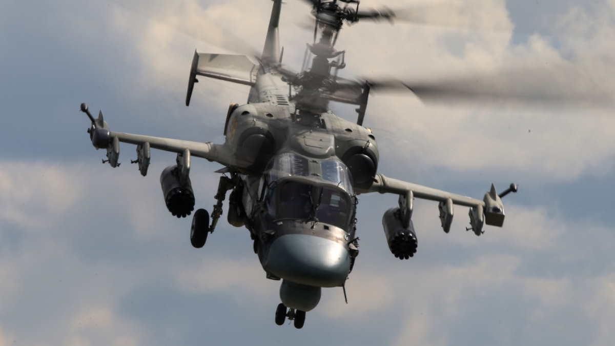 Вертолёт Ка-52М Аллигатор