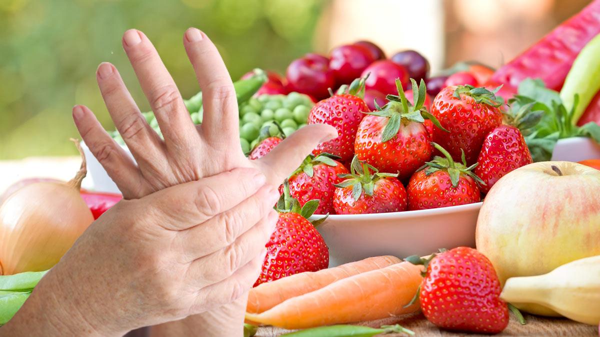 артрит овощи, фрукты, ягоды