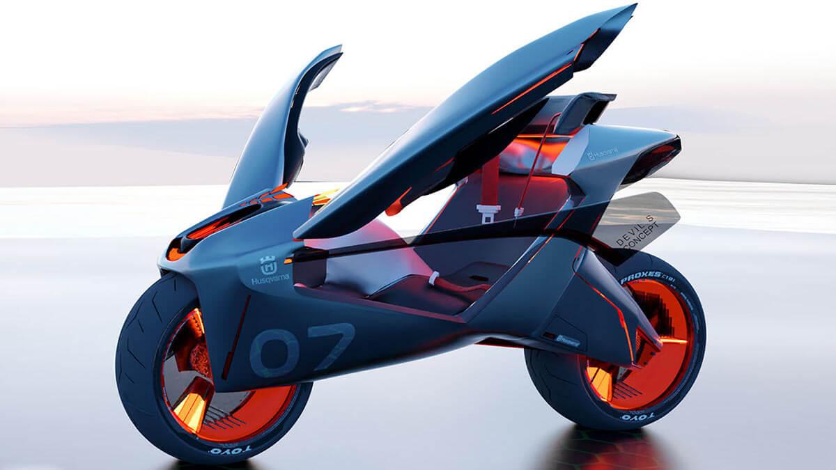 Husqvarna Devil S Concept bike