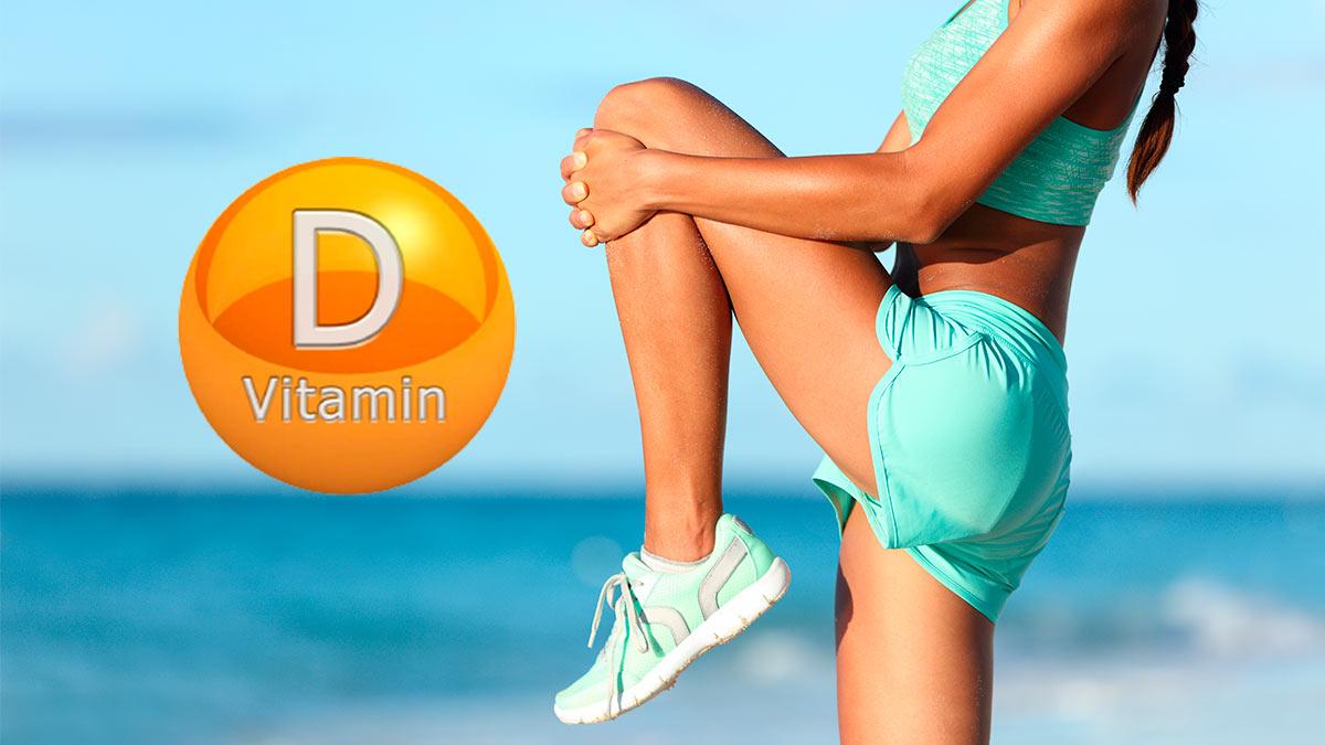 девушка витамин D