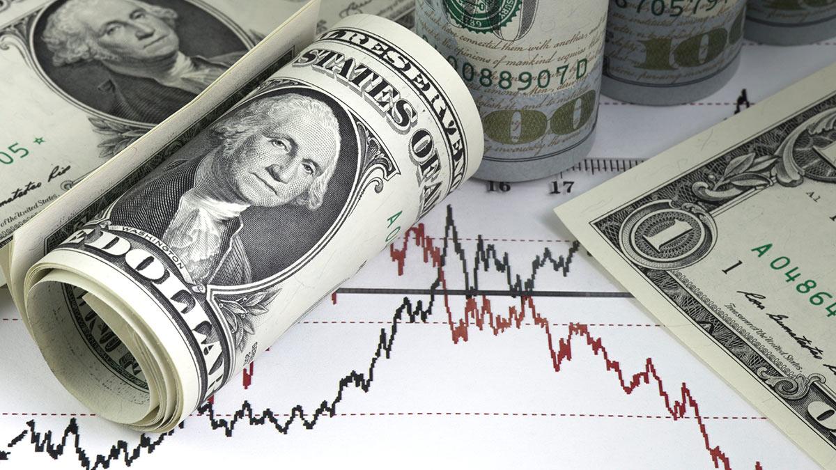 доллары графики