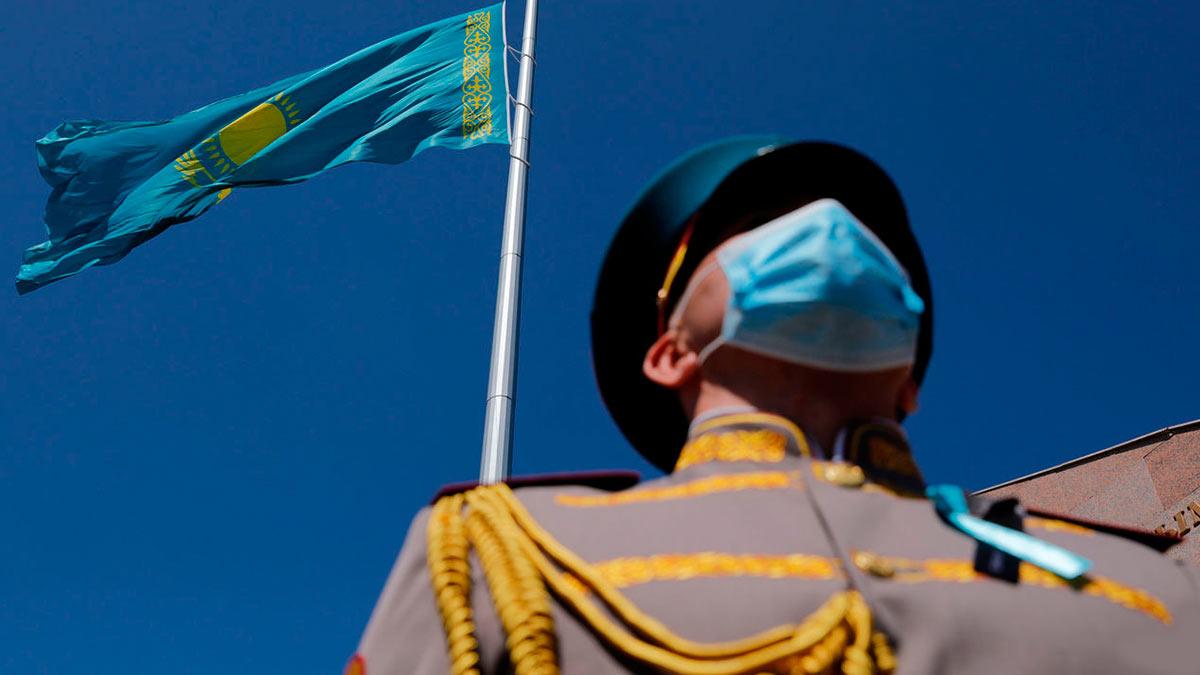 флаг мужчина маска