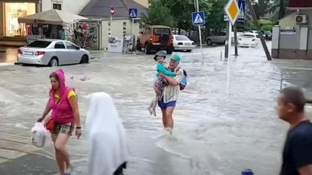 геленджик потоп
