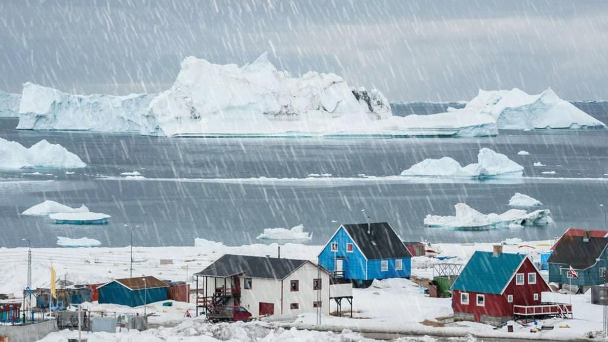 Гренландия дождь