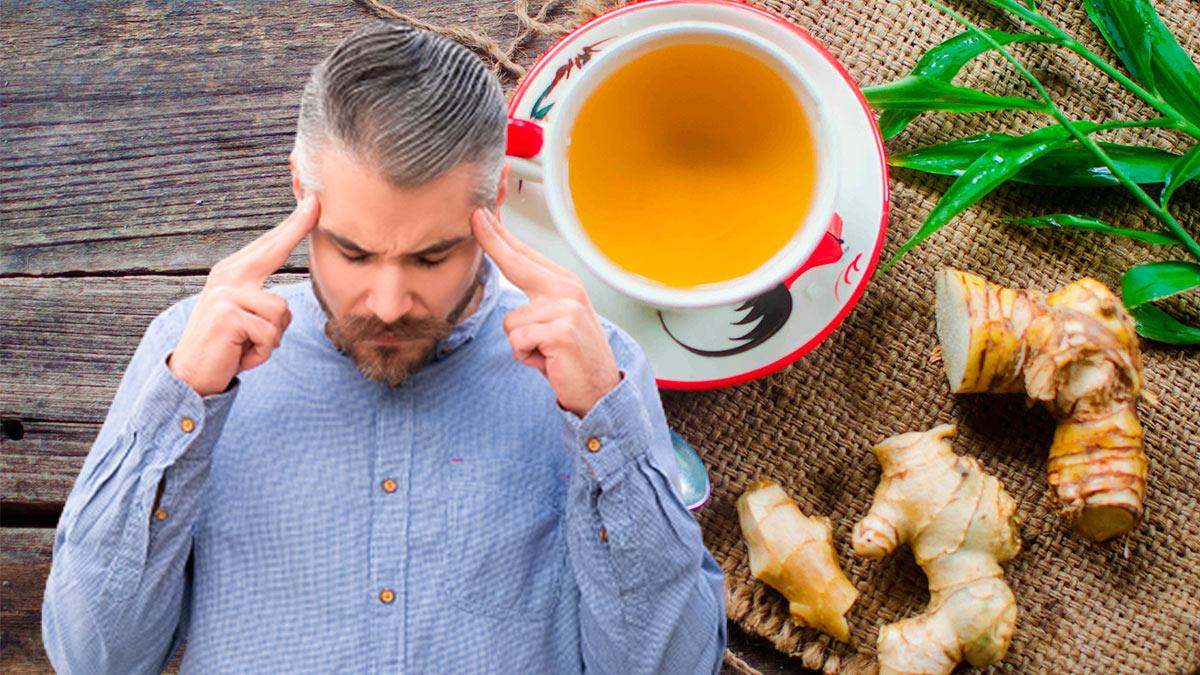 имбирный чай мозг