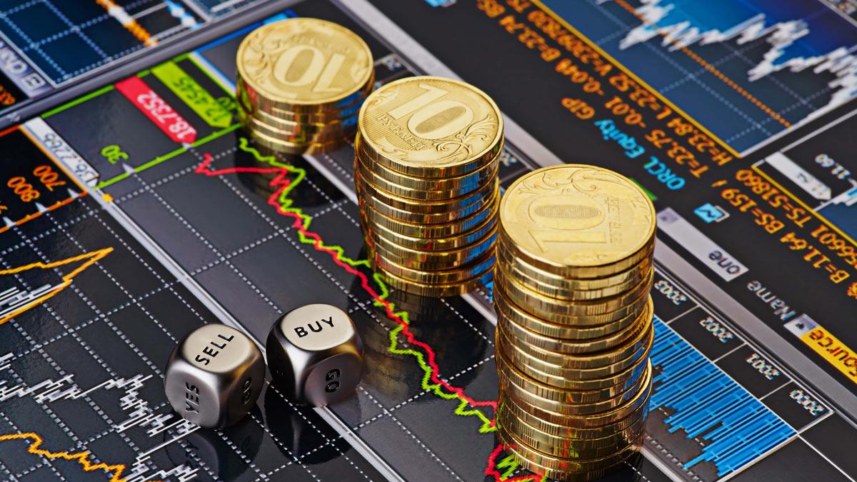кубики монеты рубли
