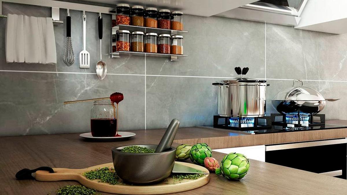 кухня плита