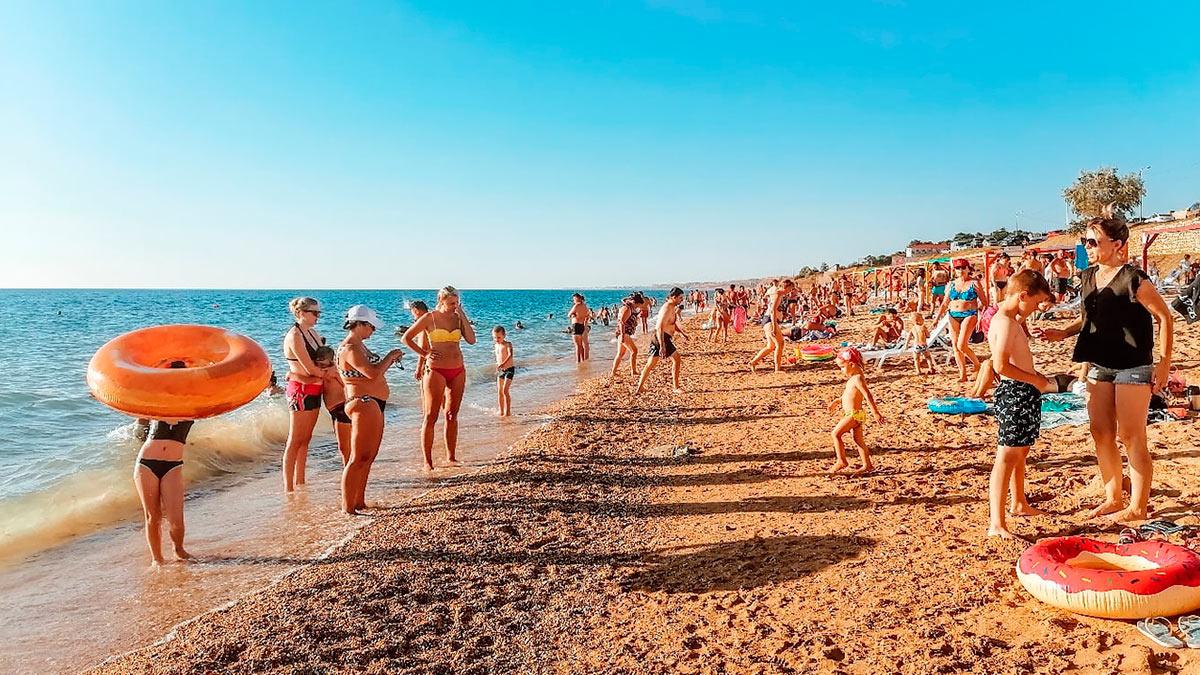 люди море пляж