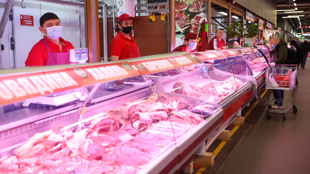 магазин мясо продажа