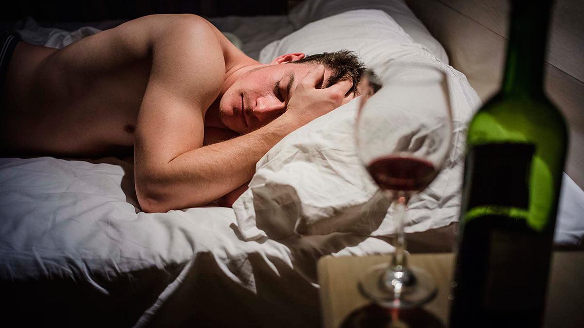 мужчина ночь алкоголь