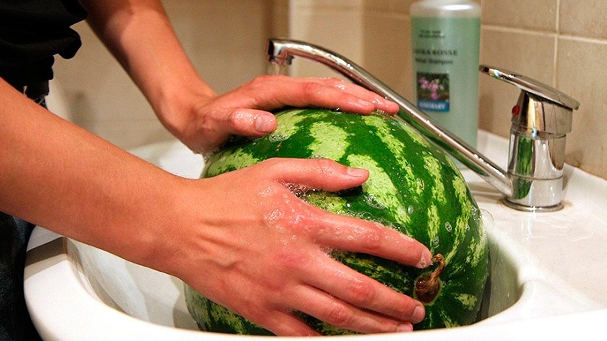 арбуз с мылом