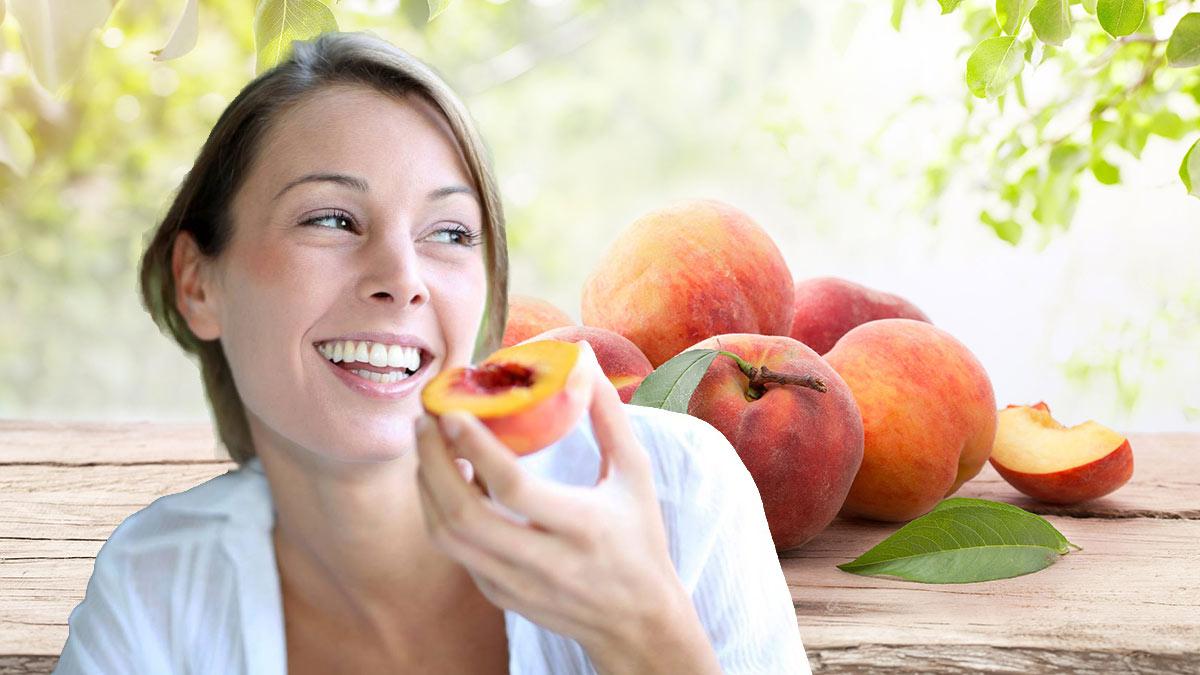 персики польза здоровье
