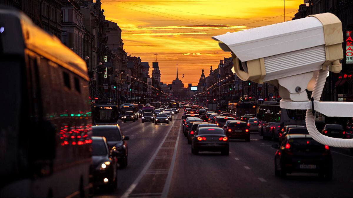 Санкт-Петербург автомобили камера
