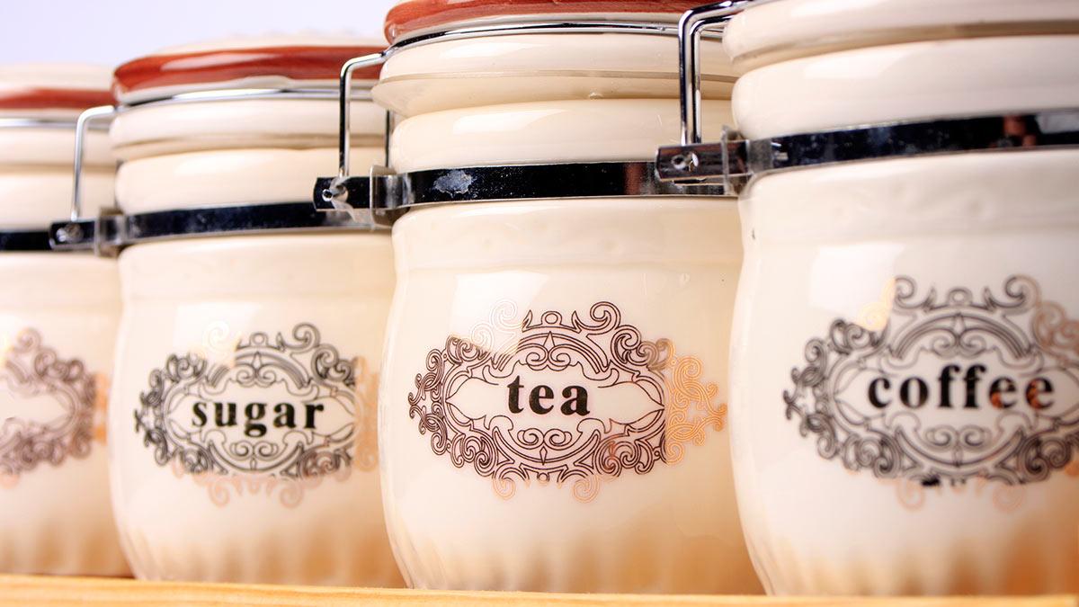 сахар чай кофе
