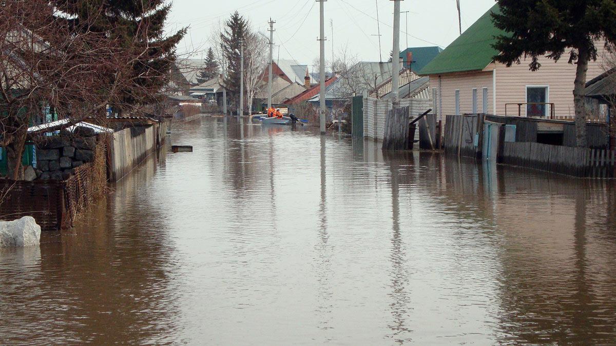 потоп вода паводок